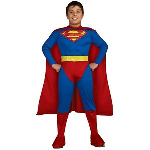 Superman スーパーマン 子供用 ガールズ ガールズ スーパーヒーロー Muscle Chest Chest ハロウィン コスチューム コスプレ コスプレ 衣装 変装 仮装, 愛ラブみかわ:20b98541 --- officewill.xsrv.jp