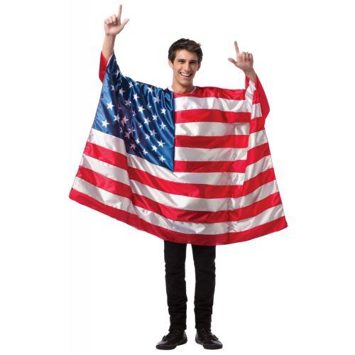 【ポイント最大29倍●お買い物マラソン限定!エントリー】Flag Tunic USA 大人用 4th of July ハロウィン コスチューム コスプレ 衣装 変装 仮装