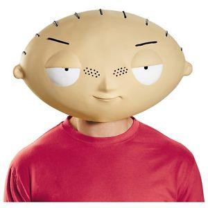 【ポイント最大29倍●お買い物マラソン限定!エントリー】Deluxe Stewie MaskMask 大人用 男性用 メンズ Family Guy ハロウィン コスチューム コスプレ 衣装 変装 仮装