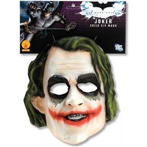 Joker 3/4 マスク キッズ 子供用 Boys Dark Knigh ダークナイト Super Villain アクセサリー ハロウィン コスチューム コスプレ 衣装 変装 仮装