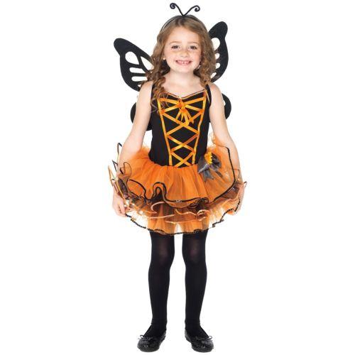 Beautiful Butterfly キッズ 子供用 Cutie Bug クリスマス ハロウィン コスチューム コスプレ 衣装 変装 仮装