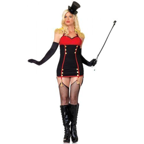 Ringmaster 大人用 Circus ライオン Tamer クリスマス ハロウィン コスチューム コスプレ 衣装 変装 仮装