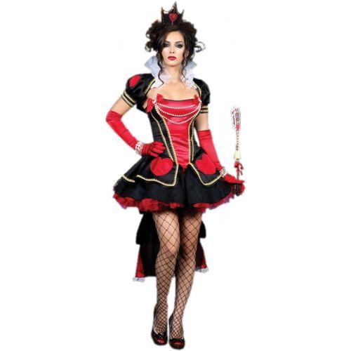 【マラソン全品P5倍】Queen of Hearts 大人用 クリスマス ハロウィン コスチューム コスプレ 衣装 変装 仮装