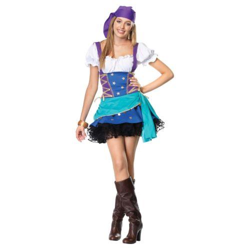 Gypsy PrincessTeen Junior Tween Fortune Teller ハロウィン コスチューム コスプレ 衣装 変装 仮装
