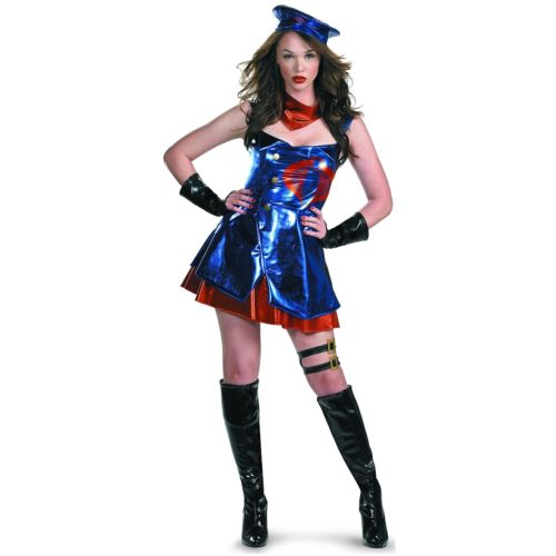 Sassy Cobra Commander Deluxe 大人用 GI Joe Villain ハロウィン コスチューム コスプレ 衣装 変装 仮装