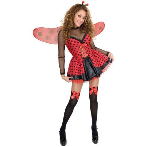 LadybugTeen ガール Lady Bug ハロウィン コスチューム コスプレ コスチューム 衣装 LadybugTeen 変装 ガール 仮装, BerryStyleベリースタイル:5001d541 --- officewill.xsrv.jp