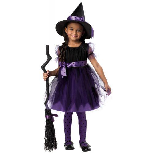 魔女Toddler キッズ 子供用 クリスマス ハロウィン コスチューム コスプレ 衣装 変装 仮装