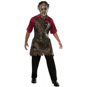 【ポイント最大29倍●お買い物マラソン限定!エントリー】Leatherface Butcher's Apron 大人用 Texas Chainsaw Massacre ハロウィン コスチューム コスプレ 衣装 変装 仮装