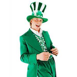 【ポイント最大29倍●お買い物マラソン限定!エントリー】Shamrock Uncle Sam Hat 大人用 男性用 メンズ St Patricks Day Leprechaun ハロウィン コスチューム コスプレ 衣装 変装 仮装