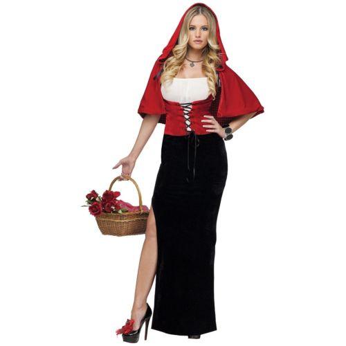 Little Red Riding Hood 大人用 Fairy Tale クリスマス ハロウィン コスチューム コスプレ 衣装 変装 仮装