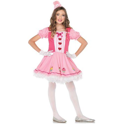 【全品P5倍】Lil' Miss Cupcake キッズ 子供用 クリスマス ハロウィン コスチューム コスプレ 衣装 変装 仮装