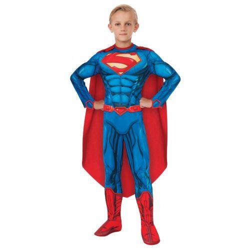 Superman スーパーマン キッズ 子供用 スーパーヒーロー クリスマス ハロウィン コスチューム コスプレ 衣装 変装 仮装