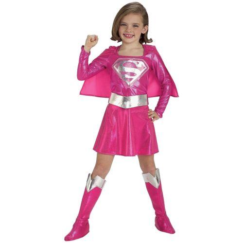 【ポイント最大29倍●お買い物マラソン限定!エントリー】Pink Supergirl キッズ 子供用 /Toddler ガール Superhero Super Friends Hero ハロウィン コスチューム コスプレ 衣装 変装 仮装