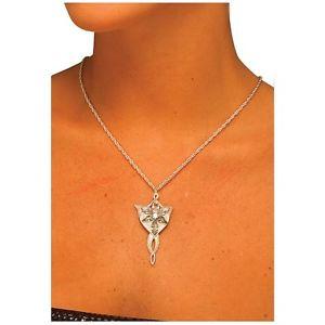 Arwen's イブnstar ネックレス Lord of the Rings ロードオブザリングElf JewelryAcsry ハロウィン コスチューム コスプレ 衣装 変装 仮装