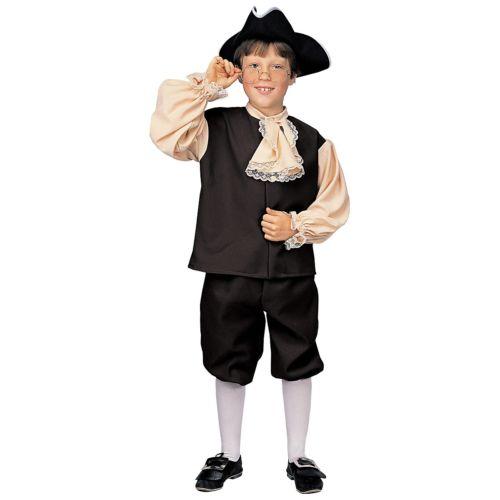 Colonial Boy キッズ 子供用 Founding Fathers Ben Franklin ハロウィン コスチューム コスプレ 衣装 変装 仮装