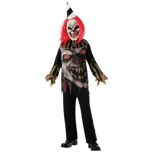 Freako the クラウン ピエロ 道化師 キッズ 子供用 クリスマス ハロウィン コスチューム コスプレ 衣装 変装 仮装