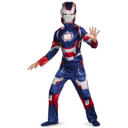 【ポイント最大29倍●お買い物マラソン限定!エントリー】Iron Patriot クラシック キッズ 子供用 Iron Man アイアンマン3 Superhero ハロウィン コスチューム コスプレ 衣装 変装 仮装