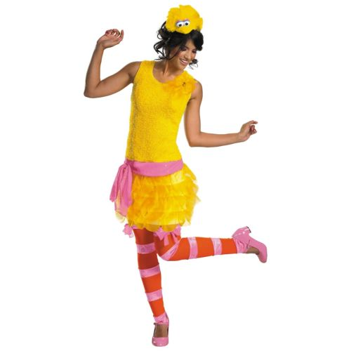 Big Bird Sassy 大人用 Sesame Street セサメストリートMuppets クリスマス ハロウィン コスチューム コスプレ 衣装 変装 仮装