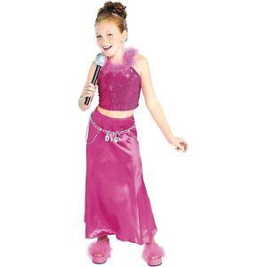 【ポイント最大29倍●お買い物マラソン限定!エントリー】Pink Diva キッズ 子供用 Pop StarSinger ハロウィン コスチューム コスプレ 衣装 変装 仮装