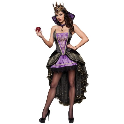Evil Queen 大人用 Wicked Fairy Tale クリスマス ハロウィン コスチューム コスプレ 衣装 変装 仮装