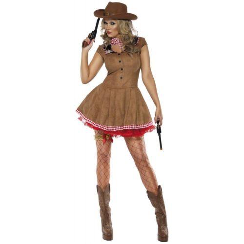 【全品P5倍】Cowgirl 大人用 ワイルド West クリスマス ハロウィン コスチューム コスプレ 衣装 変装 仮装