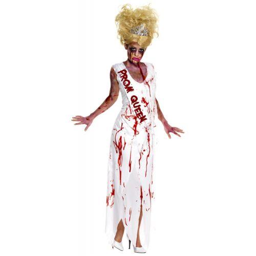 Prom Queen ゾンビ 幽霊 お化け 大人用 クリスマス ハロウィン コスチューム コスプレ 衣装 変装 仮装