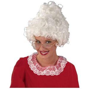 Mrs. サンタ ウィッグ アクセサリー 大人用 レディス 女性用 Claus Christmas クリスマス ハロウィン コスチューム コスプレ 衣装 変装 仮装