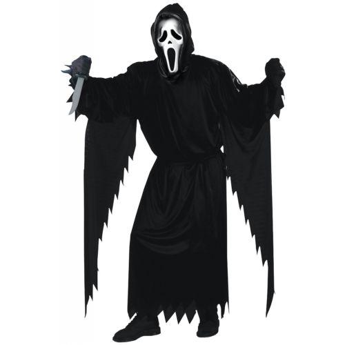 【ポイント最大29倍●お買い物マラソン限定!エントリー】ゴースト 幽霊 お化け ゾンビ Face 大人用 Scream 怖い Horror Movie ハロウィン コスチューム コスプレ 衣装 変装 仮装