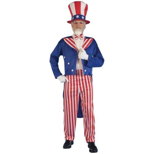 Uncle Sam 大人用 4th of July クリスマス ハロウィン コスチューム コスプレ 衣装 変装 仮装