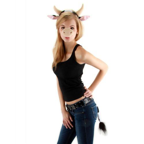 CowKit 大人用/Teen/Kids Funny クリスマス ハロウィン コスチューム コスプレ 衣装 変装 仮装