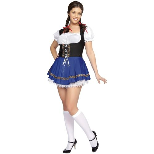 German Beer ガール 大人用 セクシー Oktoberfest Serving メイド Wench ハロウィン コスチューム コスプレ 衣装 変装 仮装