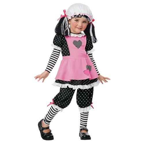 【マラソン全品P5倍】Toddler Rag Doll キッズ 子供用 ゴシック クリスマス ハロウィン コスチューム コスプレ 衣装 変装 仮装