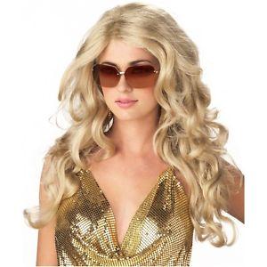 【ポイント最大29倍●お買い物マラソン限定!エントリー】Blonde Super ModelWig 大人用 レディス 女性用 セクシー Movie Star Diva ハロウィン コスチューム コスプレ 衣装 変装 仮装