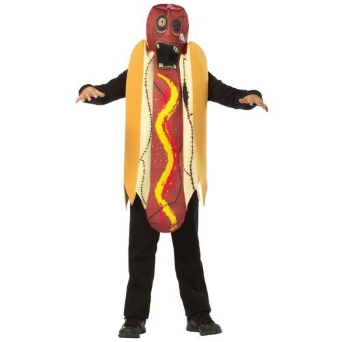 ゾンビ 幽霊 お化け Hot Dog キッズ 子供用 クリスマス ハロウィン コスチューム コスプレ 衣装 変装 仮装