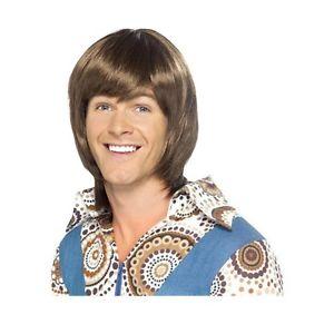 70s Heartthrob Wig アクセサリー 大人用 男性用 メンズ ハロウィン コスチューム コスプレ 衣装 変装 仮装