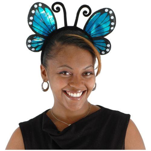 【ポイント最大29倍●お買い物マラソン限定!エントリー】Butterfly Headband アクセサリー 大人用 Teen レディス 女性用 ハロウィン コスチューム コスプレ 衣装 変装 仮装