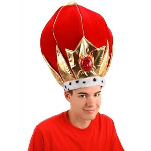【ポイント最大29倍●お買い物マラソン限定!エントリー】Giant King Crown 大人用 おもしろい パーティHat アクセサリー ハロウィン コスチューム コスプレ 衣装 変装 仮装