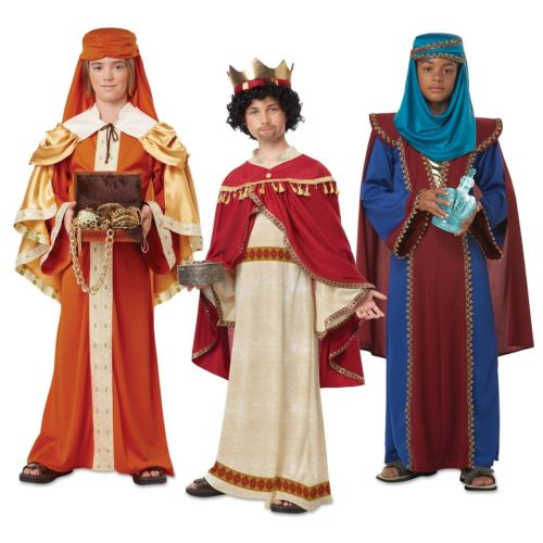Nativity 子供用 仮装 ガールズ Three Wisemen Kings クリスマス Kings Three ハロウィン コスチューム コスプレ 衣装 変装 仮装, 純金PRIMAGOLDオフィシャル店:ec9ef081 --- officewill.xsrv.jp