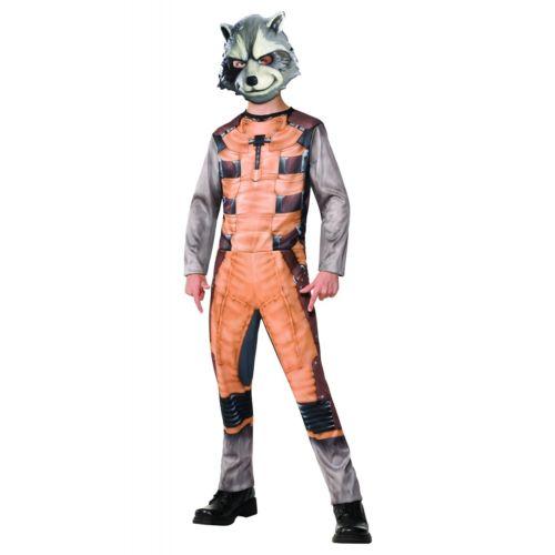 【ポイント最大29倍●お買い物マラソン限定!エントリー】Rocket Raccoon キッズ 子供用 Guardians of The Galaxy ハロウィン コスチューム コスプレ 衣装 変装 仮装