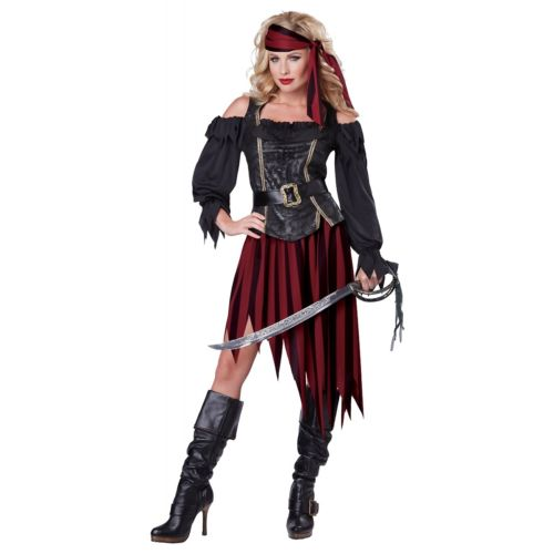Queen of the High Seas 大人用 ハロウィン コスチューム コスプレ 衣装 変装 仮装