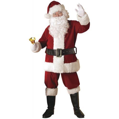 Santa スーツ 大人用 大人用 Velvet サンタクロース クリスマス ハロウィン 変装 コスチューム コスプレ スーツ 衣装 変装 仮装, 碓井町:424396aa --- officewill.xsrv.jp