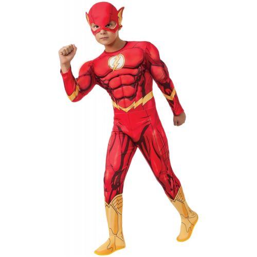 Deluxe Flash キッズ 子供用 The Flash ハロウィン コスチューム コスプレ 衣装 変装 仮装