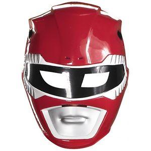 Red Ranger Vacuform マスク 大人用 男性用 メンズ Power Ranger パワーレンジャー ハロウィン コスチューム コスプレ 衣装 変装 仮装