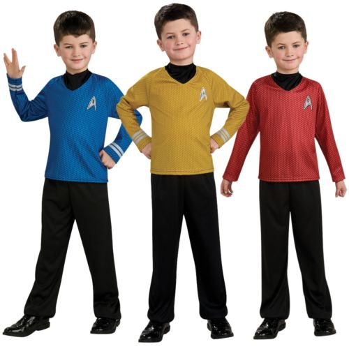 【全品P5倍】Star Trek スター・トレック キッズ 子供用 Starfleet ユニフォーム クリスマス ハロウィン コスチューム コスプレ 衣装 変装 仮装