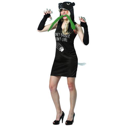Honey Badger ドレス 大人用 クリスマス ハロウィン コスチューム コスプレ 衣装 変装 仮装