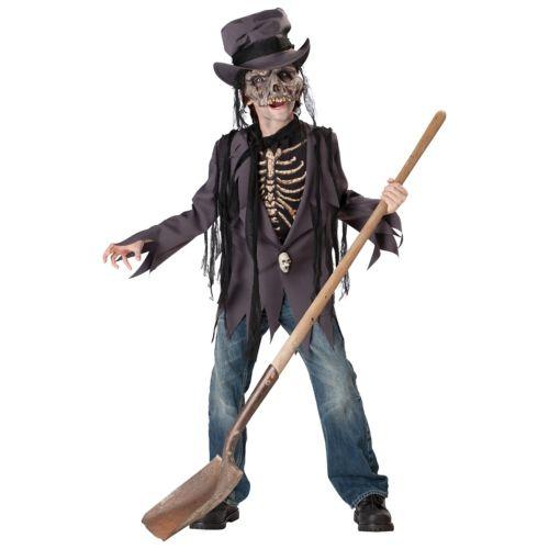 【ポイント最大29倍●お買い物マラソン限定!エントリー】Grave Robber キッズ 子供用 Voodoo ゾンビ 幽霊 お化け スケルトン がいこつ ハロウィン コスチューム コスプレ 衣装 変装 仮装