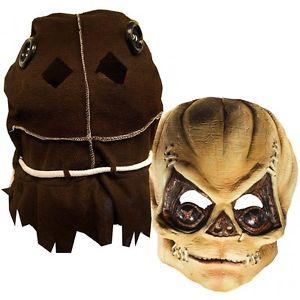 Deluxe Trick 'R Treat Latex Mask アクセサリー 大人用 男性用 メンズ クリスマス ハロウィン コスチューム コスプレ 衣装 変装 仮装
