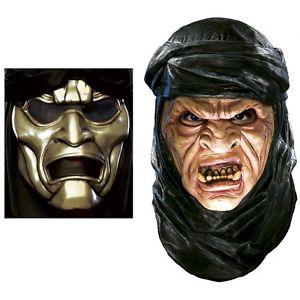 Deluxe Immortal Latex Mask with Overmask アクセサリー 男性用 メンズ 300 ハロウィン コスチューム コスプレ 衣装 変装 仮装