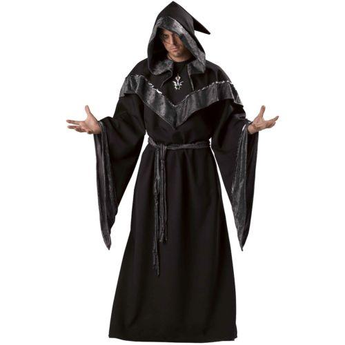 【全品ポイント5倍】SorcererMedieval Dark Priest Evil Wizard ローブ クリスマス ハロウィン コスチューム コスプレ 衣装 変装 仮装
