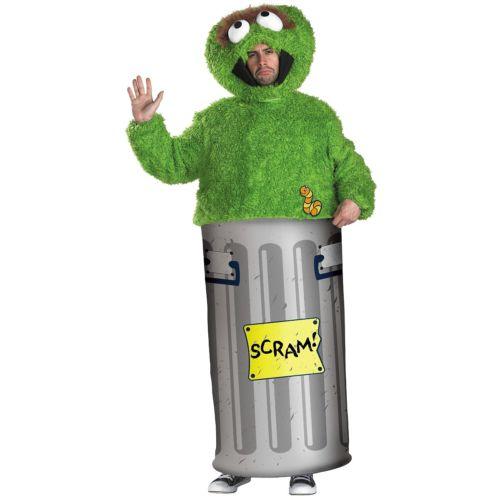 Oscar the the Grouch 大人用 Sesame Sesame Street セサメストリートScram! ハロウィン ハロウィン コスチューム コスプレ 衣装 変装 仮装, Scroll Beauty:43c2ffb8 --- officewill.xsrv.jp
